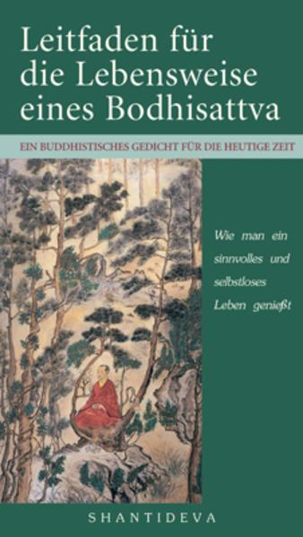 Leitfaden für die Lebensweise eines Bodhisattvas als Buch