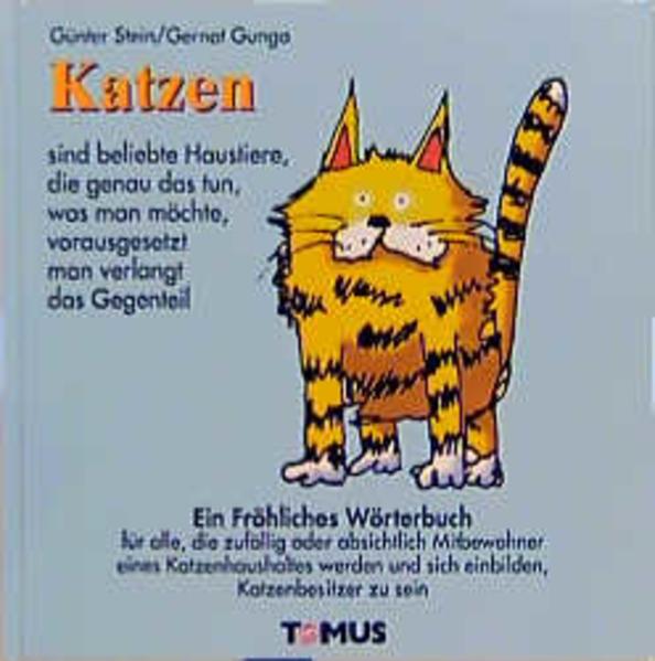 Katzen. Ein fröhliches Wörterbuch als Buch