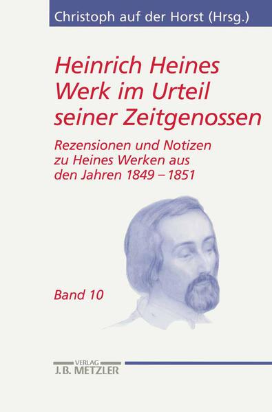 Heinrich Heines Werk im Urteil seiner Zeitgenossen/ Band 10 als Buch
