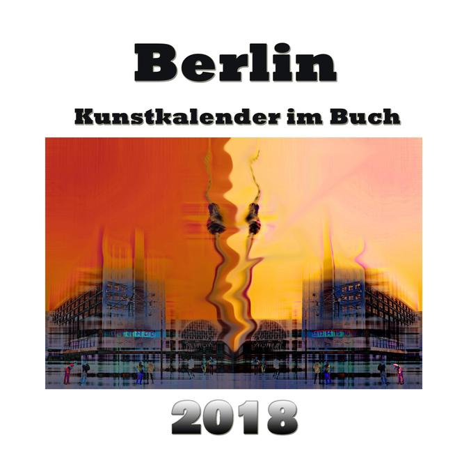 Kunstkalender im Buch - Berlin 2018 als Buch