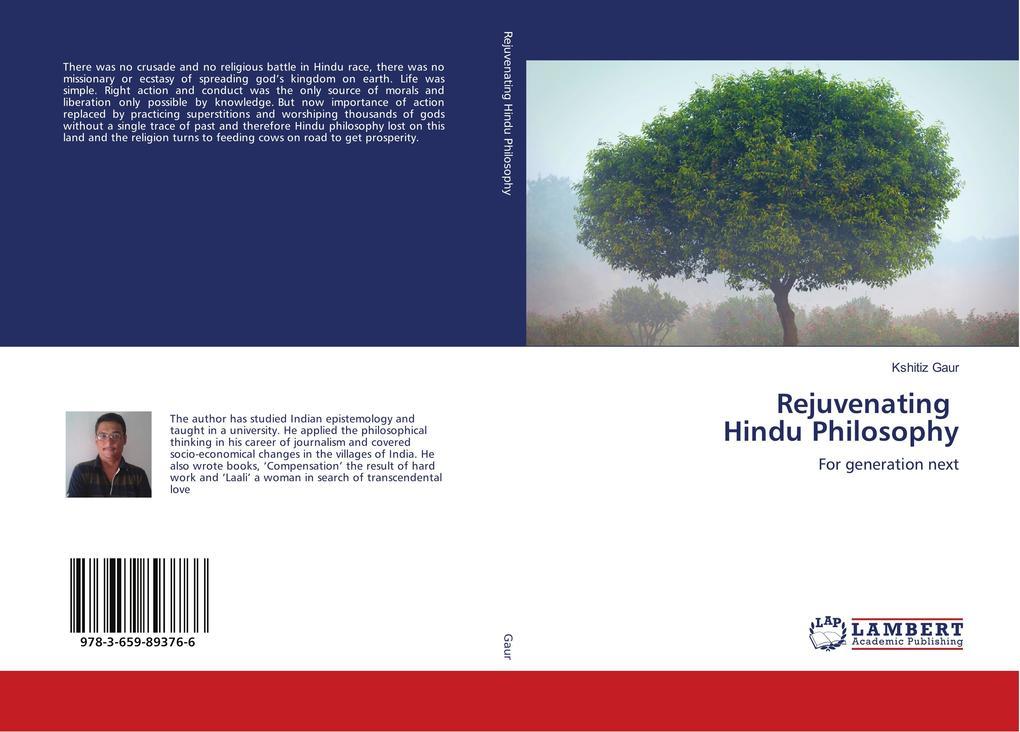Rejuvenating Hindu Philosophy als Buch von Kshi...