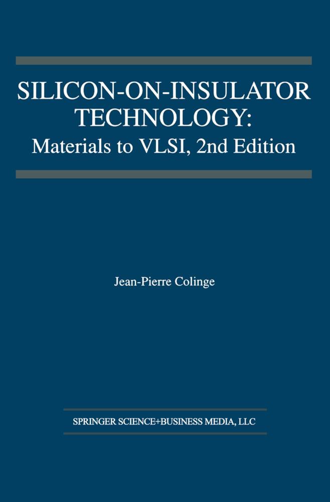 Silicon-on-Insulator Technology als Buch