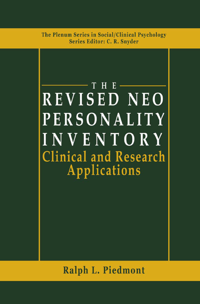 The Revised NEO Personality Inventory als Buch