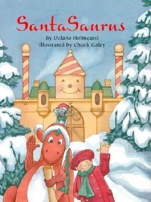 Santasaurus als Buch