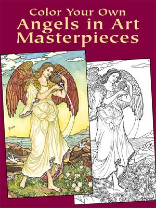 Color Your Own Angels in Art Master als Buch