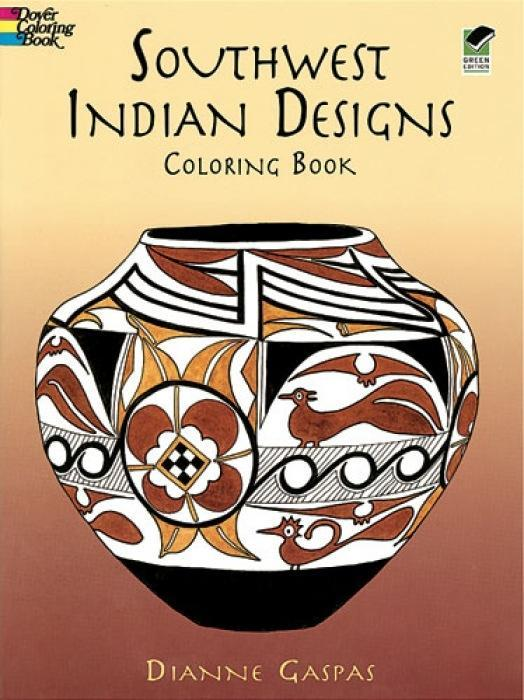 Southwest Indian Designs Coloring Book als Taschenbuch