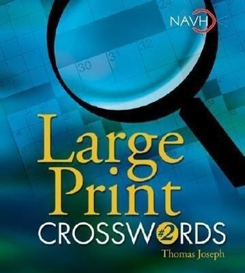 Large Print Crosswords #2 als Taschenbuch