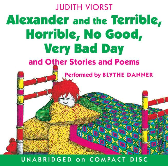 Alexander and the Terrible, Horrible, No Good, Very Bad Day CD als Hörbuch