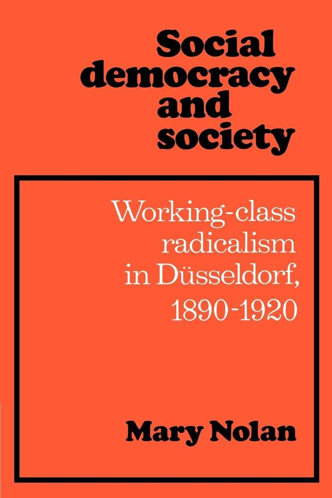 Social Democracy and Society als Buch