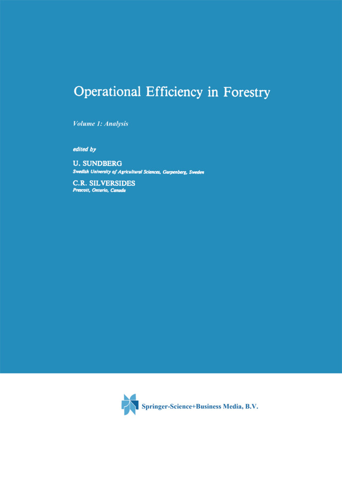 Operational Efficiency in Forestry als Buch