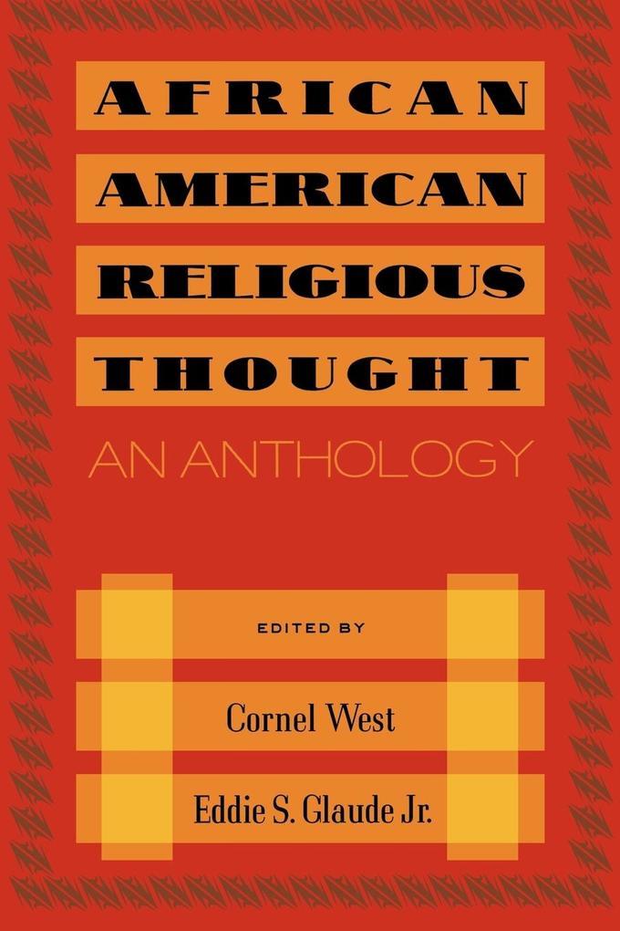 African American Religious Thought als Taschenbuch