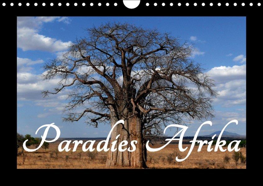 Paradies Afrika (Wandkalender 2017 DIN A4 quer) als Kalender