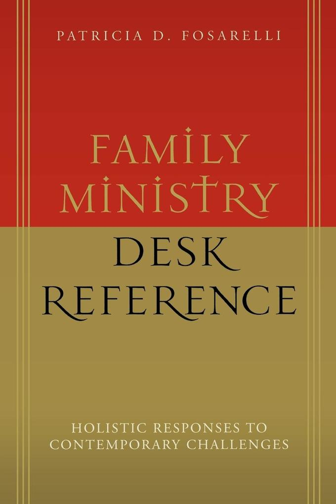 Family Ministry Desk Reference als Taschenbuch