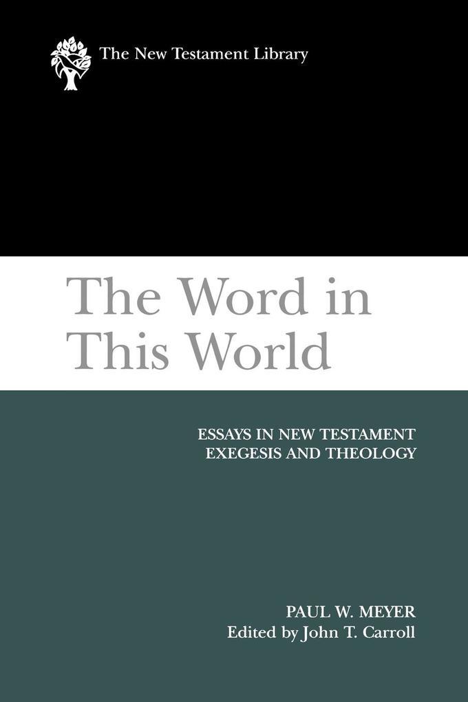 The Word in This World als Taschenbuch