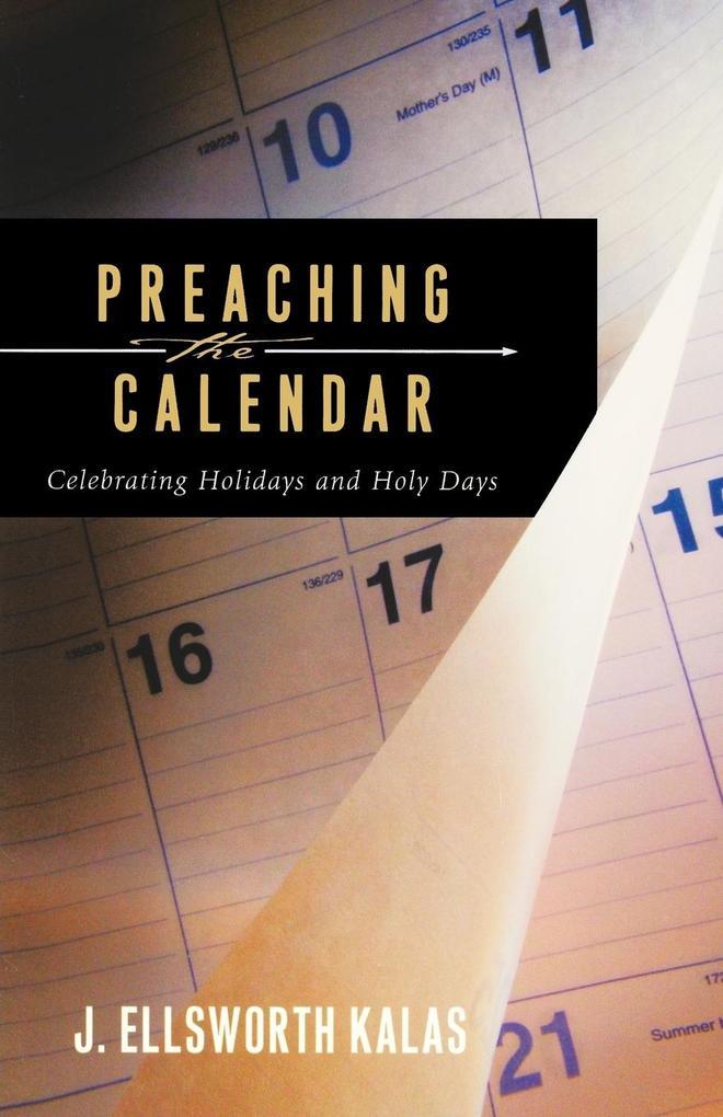Preaching the Calendar als Taschenbuch