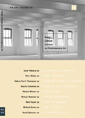 Robert Lehman Lectures on Contemporary Art No. 2 als Taschenbuch