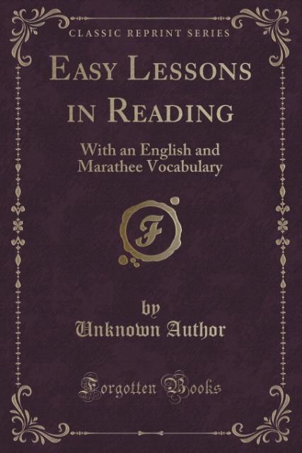 Easy Lessons in Reading als Taschenbuch von Unk...