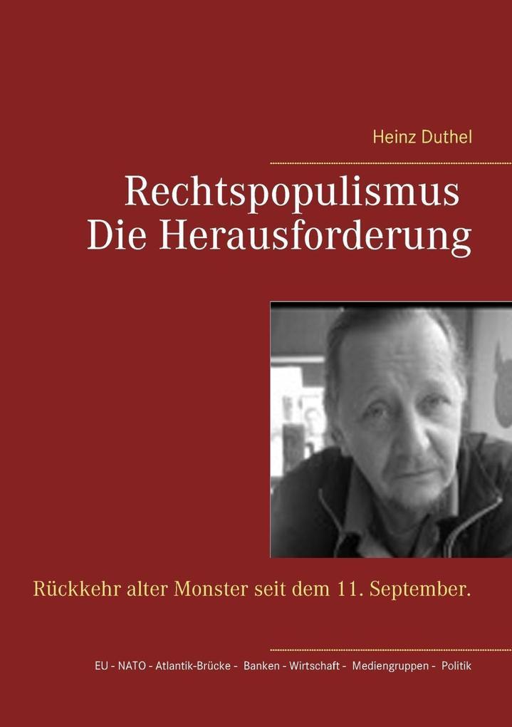 Rechtspopulismus - Die Herausforderung als eBook