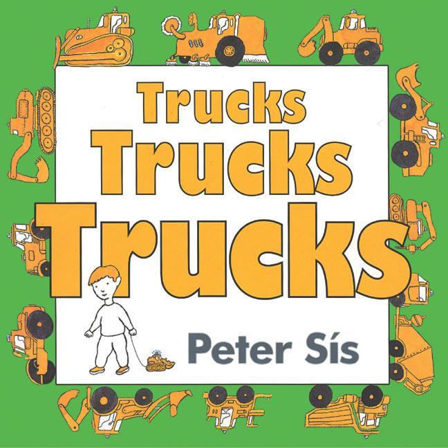 Trucks Trucks Trucks Board Book als Buch