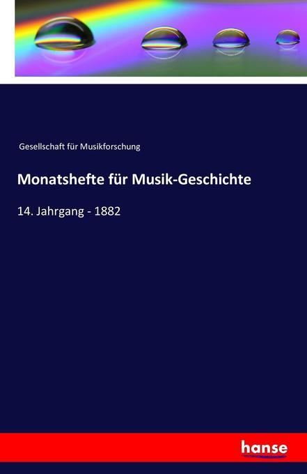 Monatshefte für Musik-Geschichte als Buch von G...