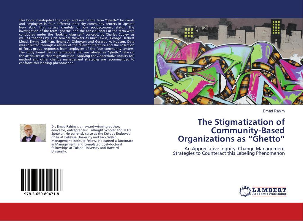 The Stigmatization of Community-Based Organizat...
