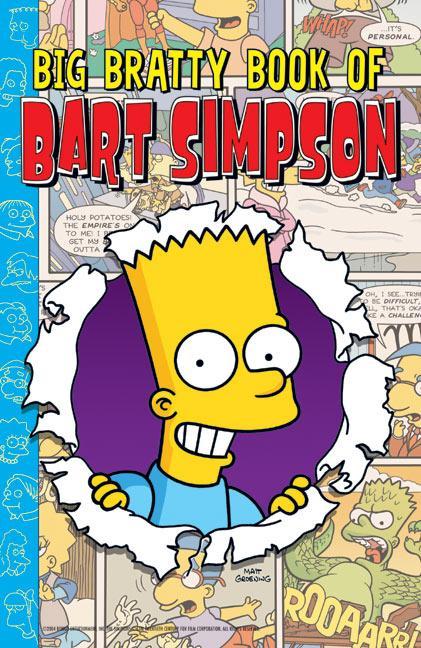 Big Bratty Book of Bart Simpson als Taschenbuch
