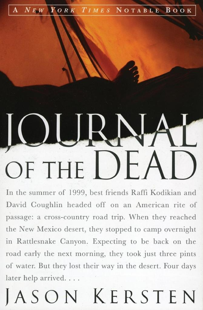 Journal of the Dead: A Story of Friendship and Murder in the New Mexico Desert als Taschenbuch