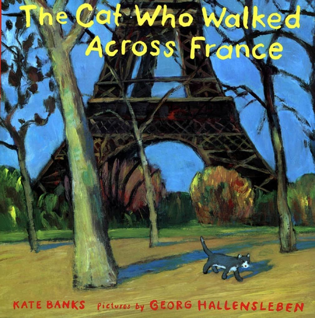 The Cat Who Walked Across France als Buch