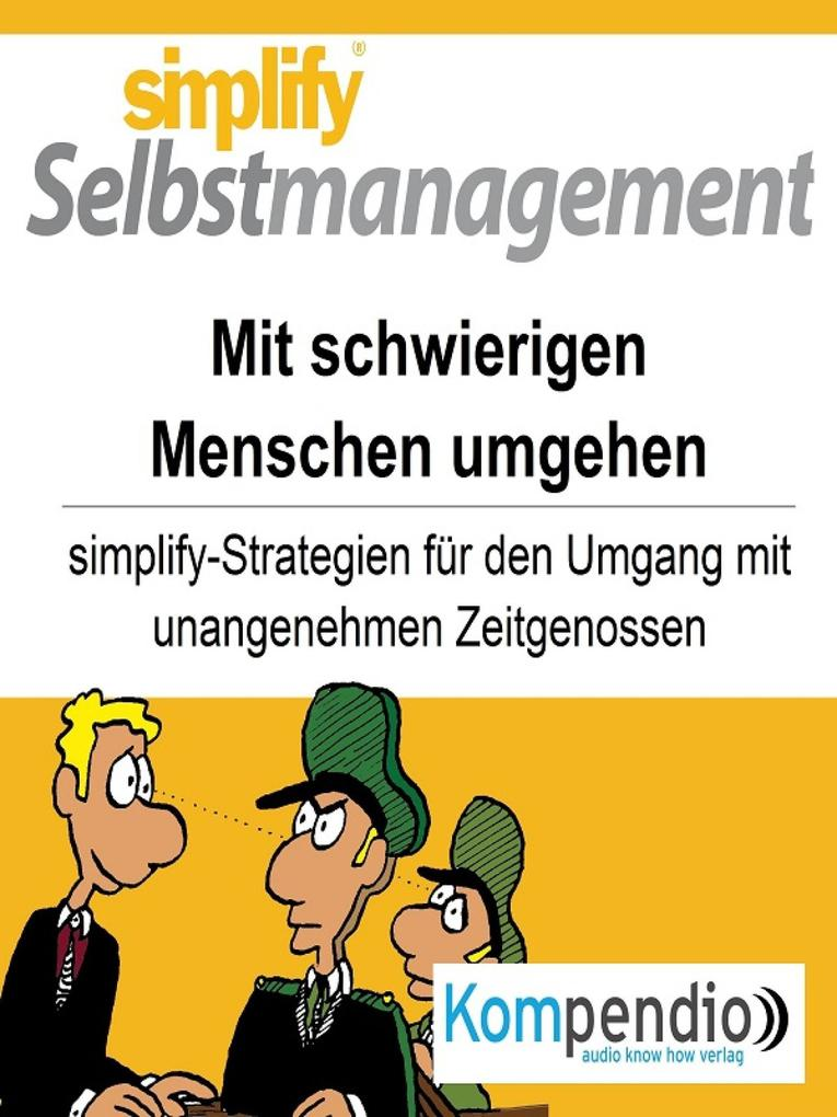 simplify Selbstmanagement als eBook