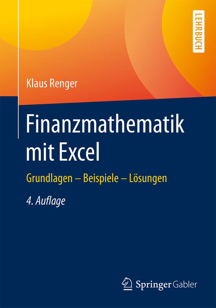 Finanzmathematik mit Excel als Buch