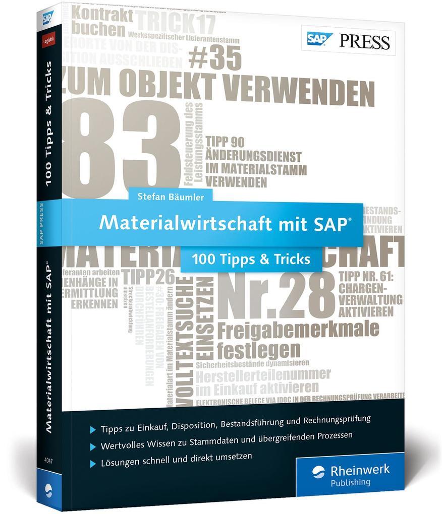Materialwirtschaft mit SAP - 100 Tipps & Tricks...