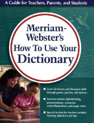 Merriam-Webster's How to Use Your Dictionary als Taschenbuch
