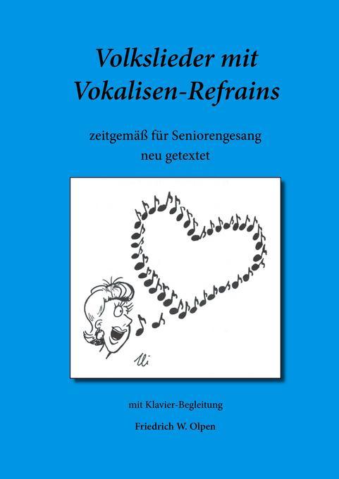 Volkslieder mit Vokalisen-Refrains als Buch von...
