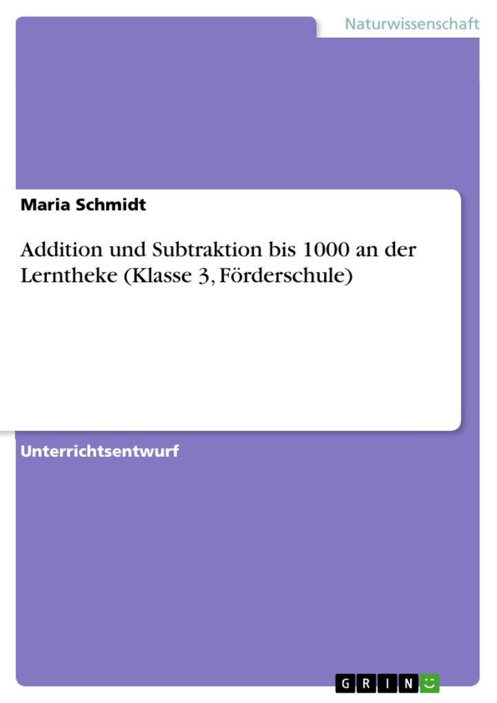 Addition und Subtraktion bis 1000 an der Lernth...