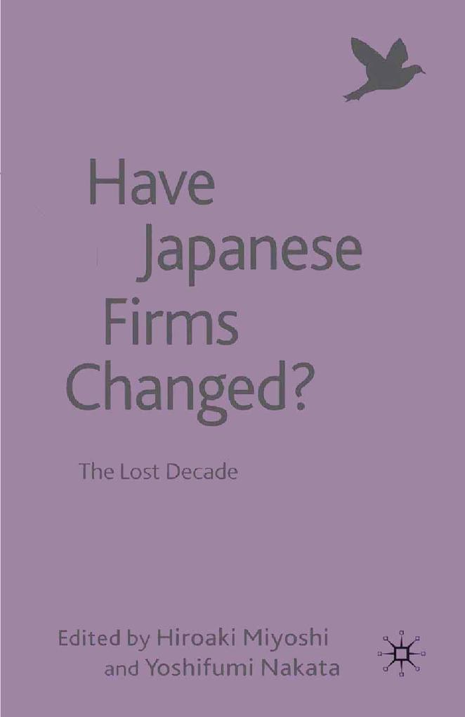 Have Japanese Firms Changed? als eBook Download...