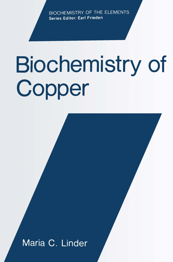 Biochemistry of Copper als Buch