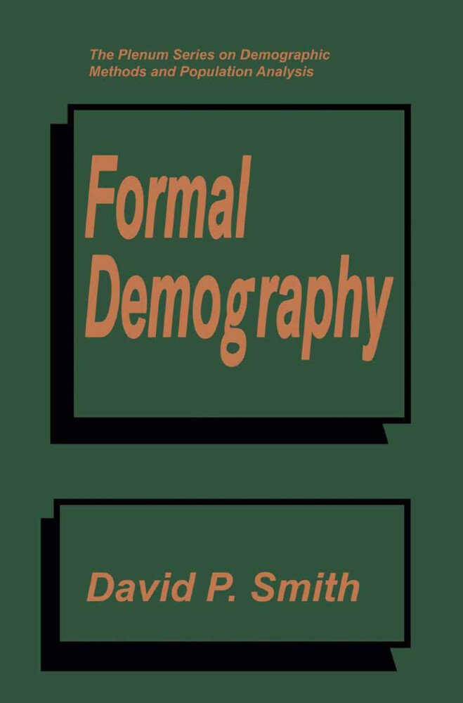 Formal Demography als Buch