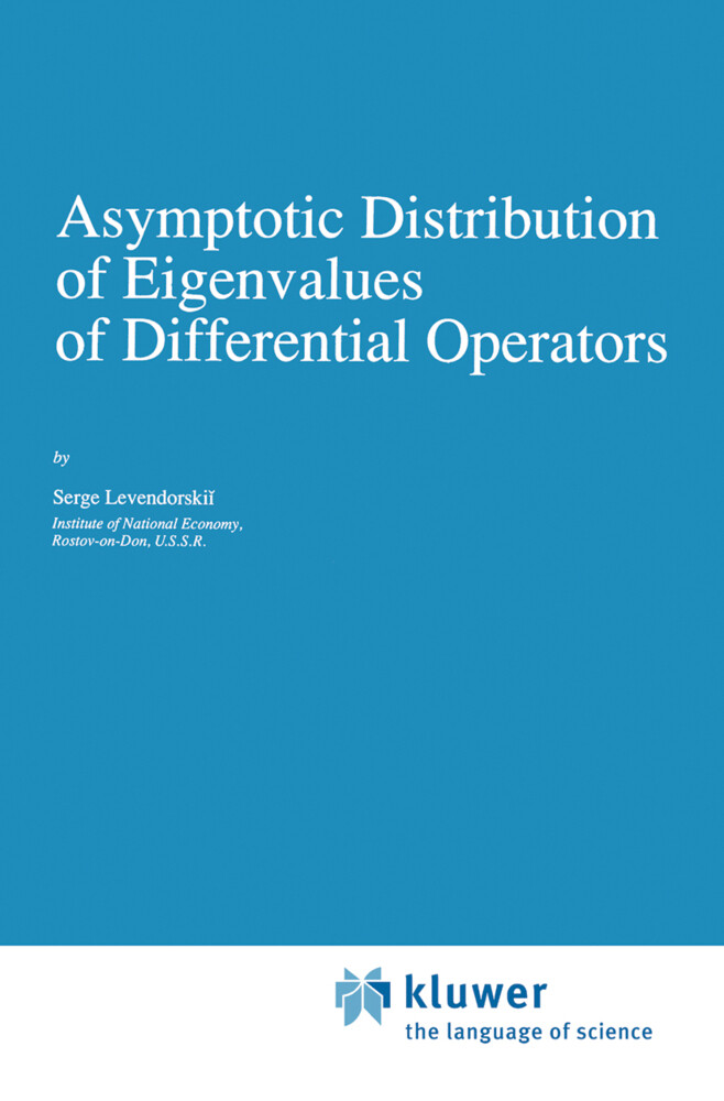 Asymptotic Distribution of Eigenvalues of Differential Operators als Buch