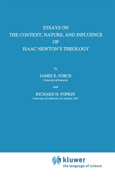 Essays on the Context, Nature, and Influence of Isaac Newton's Theology als Buch