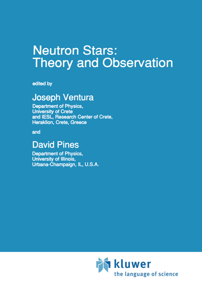 Neutron Stars: Theory and Observation als Buch