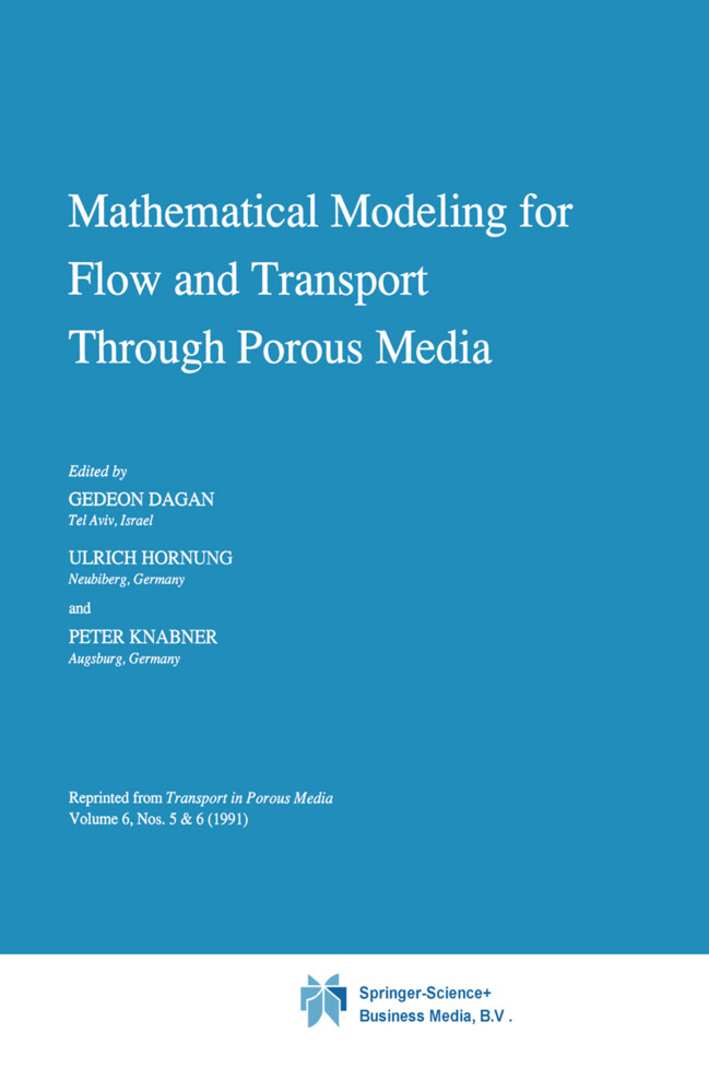 Mathematical Modeling for Flow and Transport Through Porous Media als Buch