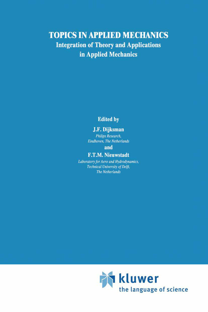 Topics in Applied Mechanics als Buch