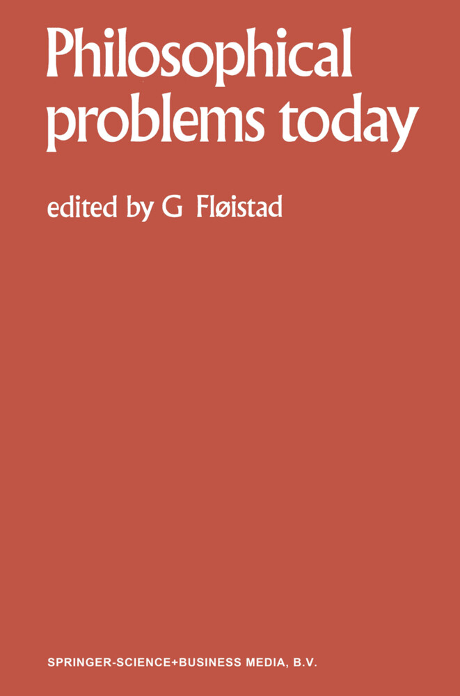 Philosophical Problems Today / Problèmes Philosophiques d'Aujourd'hui als Buch