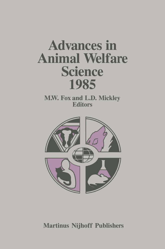 Advances in Animal Welfare Science 1985 als Buch