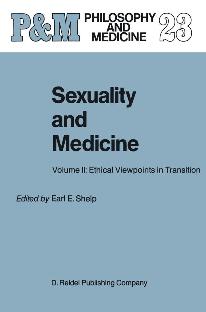 Sexuality and Medicine als Buch