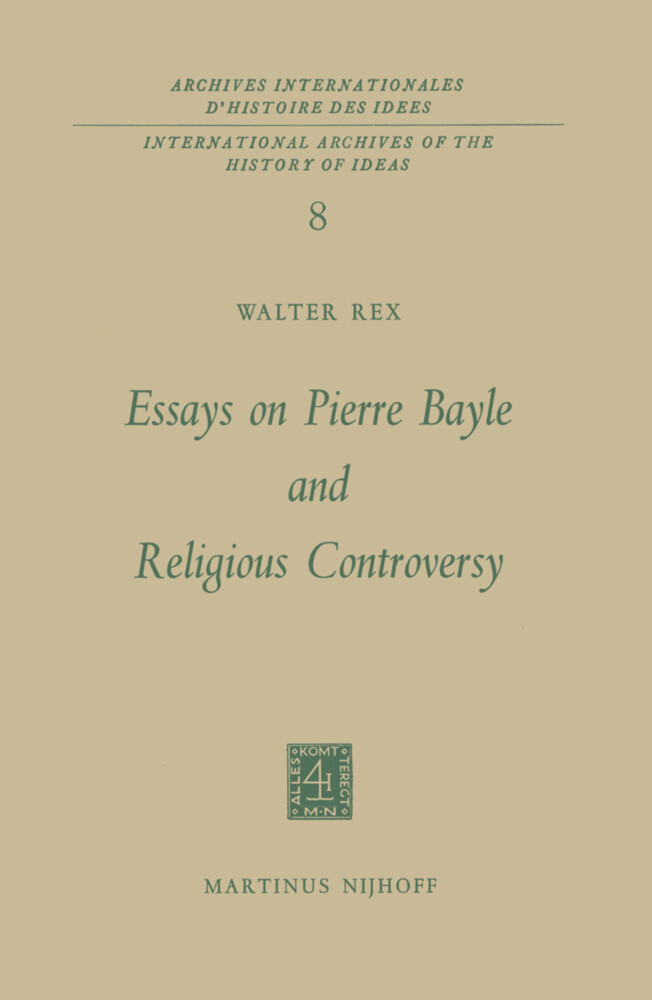 Essays on Pierre Bayle and Religious Controversy als Buch