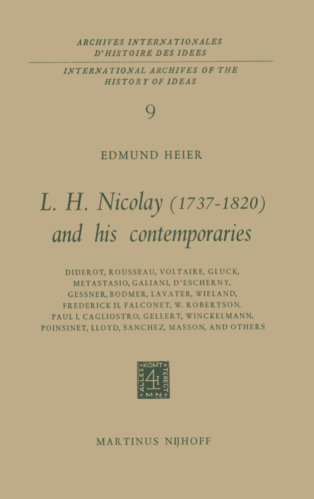 L.H. Nicolay (1737-1820) and his Contemporaries als Buch