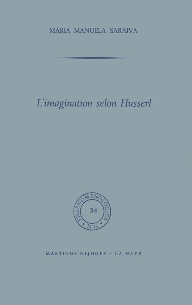 L'imagination selon Husserl als Buch