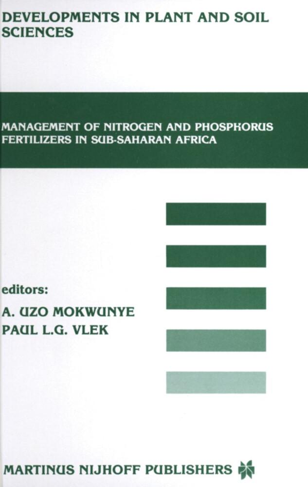 Management of Nitrogen and Phosphorus Fertilizers in Sub-Saharan Africa als Buch