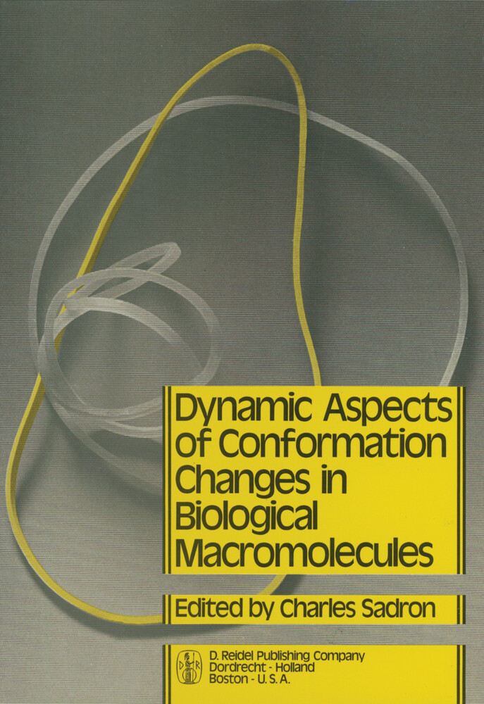 Dynamic Aspects of Conformation Changes in Biological Macromolecules als Buch